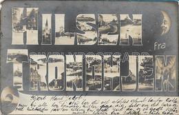 AK OLD POSTCARD - NORVEGIA - HILSEN FRA TRONDHJEM - VIAGGIATA 1905 - G16 - Noorwegen
