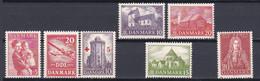 1943-44. Denmark. Full Years. MNH ** - Volledig Jaar
