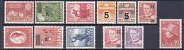 1954-55. Denmark. Full Years. MNH ** - Volledig Jaar