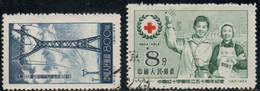 CHINE 1955 O - Oblitérés