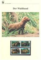 Guyana 2011 - WWF Der Waldhund - Komplettes Kapitel Postfrisch MK FDC - Unclassified