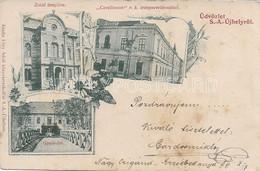 AK OLD POSTCARD -  UNGHERIA - UDVOZLET S.A. UJHELYROL - VIAGGIATA 1899 - G41 - Hongarije