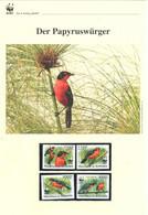 Burundi 2011 - WWF Der Papyruswürger - Komplettes Kapitel Postfrisch MK FDC - Unclassified