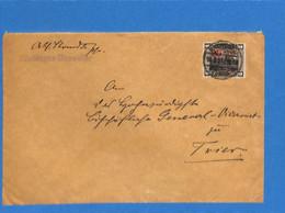 Saar 1921 Lettre De Rilchingen-Hanweiler (G2581) - Brieven En Documenten