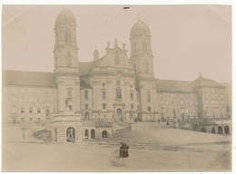 SUISSE,  Photo Originale 8 X 10,5 Cm - Basilique D'Einsiedeln - Luoghi
