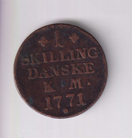 1 Skilling 1771 Danemark - TTB - Dänemark