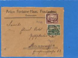 Saar 1922 Lettre De Fraulautern   (G2586) - Lettres & Documents