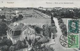 AK OLD  POSTCARD - GERMANIA - BERLIN - KAULSDORF - PFARRHAUS - BLICK AUF DIE BAHNHOF STRASSE  - VIAGGIATA 1925 -  G63 - Andere
