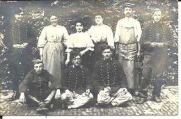 CARTE PHOTO - VILLENEUVE SAINT-GEORGES - 1908 Grêve De La C.G.T. - Fed. Des Mineurs .. UNIQUE ! - Villeneuve Saint Georges