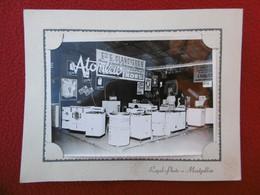 FOIRE EXPOSITION DE MONTPELLIER Ets GLANDIERES RADIO ELECTRO MENAGER 1 RUE BAUDIN PHOTO ROYAL PHOTO 18 X 12.5 Cm - Professions