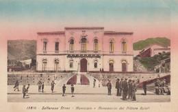 Sicilia - Catania - Zafferana Etnea - Municipio E Monumento  - F. Piccolo - Nuova - Bella Animata - Altre Città
