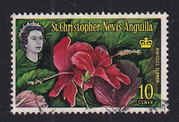 St Kitts-Nevis: 1963/69   QE II - Pictorial    SG136    10c      Used - St.Christopher-Nevis-Anguilla (...-1980)