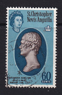 St Kitts-Nevis: 1963/69   QE II - Pictorial    SG141    60c      Used - St.Christopher-Nevis-Anguilla (...-1980)