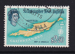 St Kitts-Nevis: 1963/69   QE II - Pictorial    SG143    $2.50      Used - San Cristóbal Y Nieves - Anguilla (...-1980)