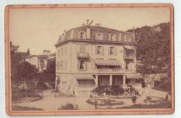 Genève Suisse - Photo A. Detraz Prieuré 20 Pâquis Genève - Bâtiment - Maison  ( ~16 X 10 Cm) - Oud (voor 1900)