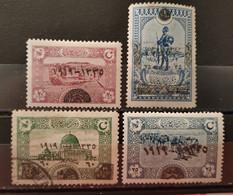 TURQUIE - 1920 N° 595 * - 597 O - 598 ** - 613 ** (voir Scan) - Nuovi