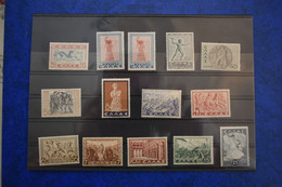 GREECE 1937 HISTORICAL ISSUE COMPLET SERIES - Neufs