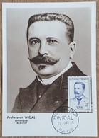 CM 1958 - YT N°1143 - PROFESSEUR WIDAL - PARIS - 1950-59