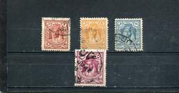 Jordanie 1930-42 Yt 148A 152 155-156 - Jordania
