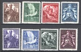 Vaticano 1938 Posta Aerea Sass. A 1/8 **/MNH VF/F - Airmail