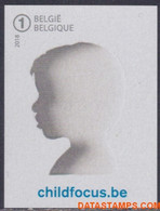België 2018 - Mi:4821, Yv:4747, OBP:4775, Stamp - □ - 20 Years Of Child Focus - No Dentado
