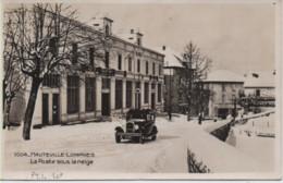 AIN-Hauteville-Lompnès-La Poste Sous La Neige - 1004 - Hauteville-Lompnes