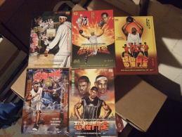 Lebron James Basketball Player Lot De 5 Cartes Postales - Advertising