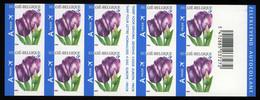 "België Boekje B66 ON - Bloemen - Tulpen - ""Rembrandt"" - Fleurs - Tulipes - (3549) - André Buzin - SUP - Ongetande"