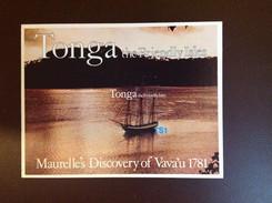 Tonga 1981 Maurelle Discovery Minisheet MNH - Tonga (1970-...)