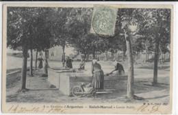 ST MARCEL LAVOIR PUBLIC RARE EN 1906 - Andere Gemeenten