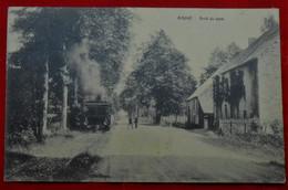 CPA Grune, Nassogne - Arrêt Du Tram - Nassogne