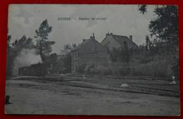 CPA 1913 Gistoux - Station Du Vicinal - Chaumont-Gistoux