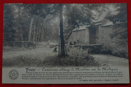 CPA 1918 Yvoir - Ancienne Abbaye De Moulins Sur La Molignée - Yvoir