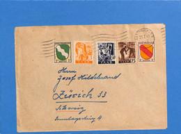 Saar 1947 Lettre De Saarbrücken à La Suisse  (G2623) - Brieven En Documenten
