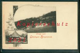 AK Litho Obbürgen - Bürgenstock, Stansstad, Wirtschaft, Weltpostverein, Ungelaufen - NW Nidwalden