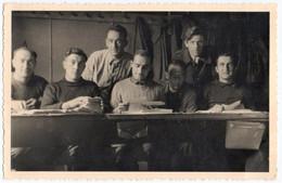 MILITARIA. 39-45. CARTE PHOTO. ALLEMAGNE. BATHORN. PRISONNIERS. STALAG VIc. CENSURE. 1942 ? - Guerre 1939-45
