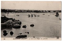 CPA 29 - BRIGNOGAN (Finistère) - 356. Le Port Et La Plage, Vue Générale - ND - Brignogan-Plage