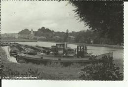 70 - Haute Saone - Port Sur Saone - Village - Canal - Péniches - - Other Municipalities