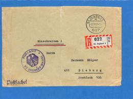 Saar 1953 Lettre De St. Ingbert (G2629) - Brieven En Documenten