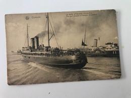 """Carte Postale Ancienne  OSTENDE La Malle """"Princesse Elisabeth"""" - Oostende"""