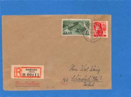 Saar 1947 Lettre De Schiffweiler (G2638) - Brieven En Documenten