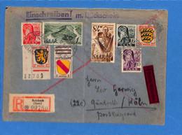 Saar 1947 Lettre De Sulzbach (G2641) - Brieven En Documenten