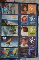 BULGARIA 10 DIFERENT CARDS USED MOBILKA - Bulgarie