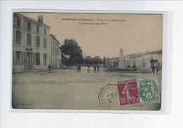 DEP. 17 ST-SAVINIEN-S-CHARENTE PLACE DE LA GENDARMERIE LE MONUMENT AUX MORTS - Other Municipalities