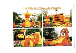 Cpm - MENTON - Fête DU CITRON - 2004 - Stunt Show Caméra Cinéma MICKEY - Music And Musicians