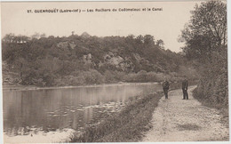 Guenrouët (44 - Loire Atlantique) Les Rochers De Coëtmeleuc Et Le Canal - Guenrouet