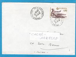 """LETTRE DE FAVERNE, AVEC TIMBRE """"EUROPA 74"""", POUR BERNE. - Lettres & Documents"""