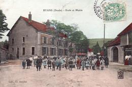 BYANS  Ecole Et Mairie - Otros Municipios