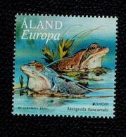 Aland 2021  Europa Wildlife 1v  Complete Set  ** MNH - Aland