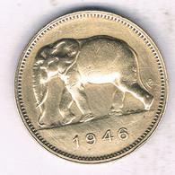 2 FRANC 1946  BELGISCH CONGO /5894/ - 1945-1951: Régence